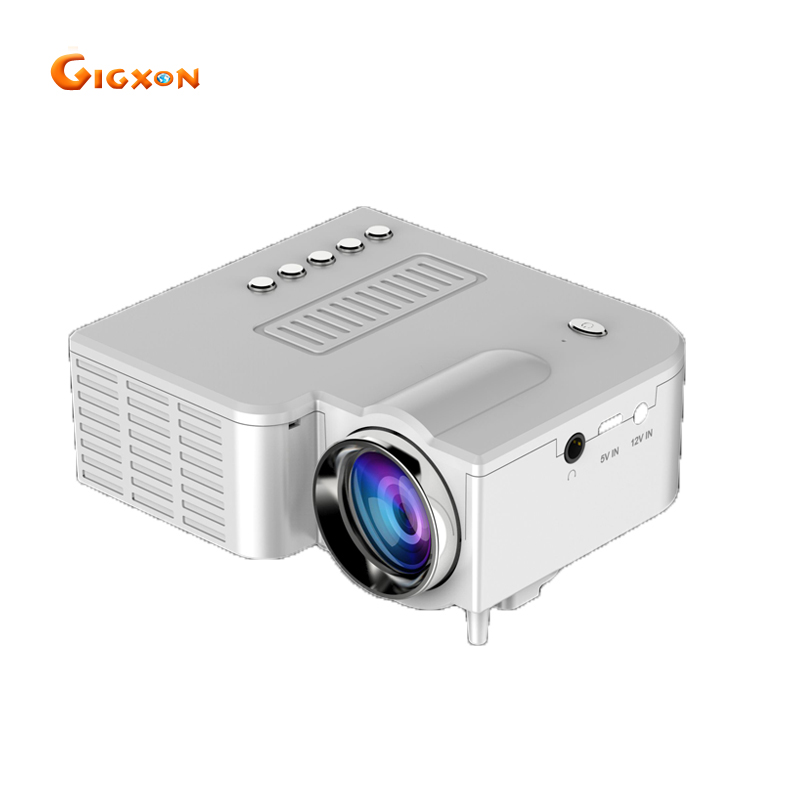 Gigxon - G28A G28B(without HDMI) QVGA support full HD 1080P pocket LED projector multimedia HDMI 500 lumens mini projector gigxon g700a android portable mini projector support full hd level 1920x1080pixels 1200 lumens led projector