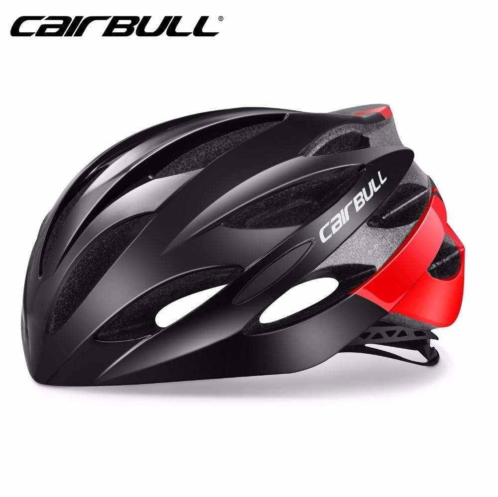 CAIRBULL Vélo Casque VTT Vélo De Route Vélo Casque EPS + PC Moulée Intégralement Ultraléger Respirant Racing Casque M/L Casque Vtt dans Casque de vélo de Sports et loisirs