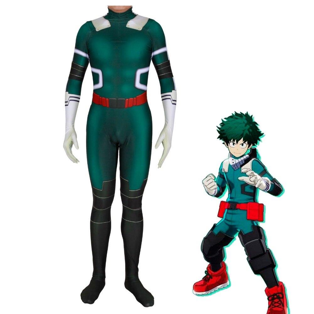 Tous pourraient Boku pas de héros académique Cosplay Costume
