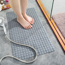 New environmental protection PVC bathroom sucker floor mat household toilet bath shower foot mat bathroom bathtub anti-skid mat