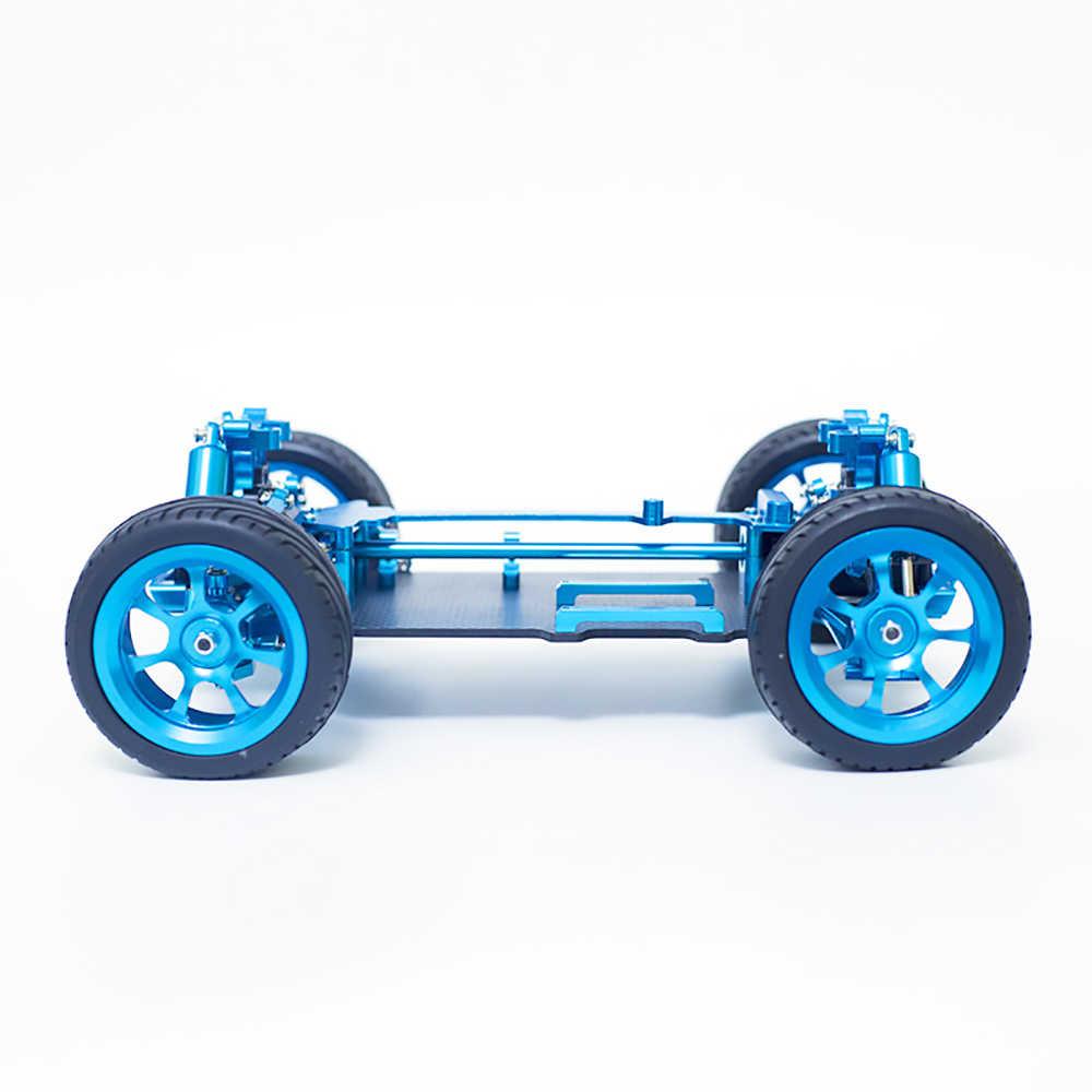 Wltoys 1/18 4WD A959 A969 A979 Semua Logam RC Chassis Mobil RC Model Kendaraan Bagian untuk Anak Laki-laki Mainan Hadiah