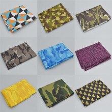 91x147cm tela de camuflaje DIY superficie impermeable costura artesanía materiales decoración del hogar