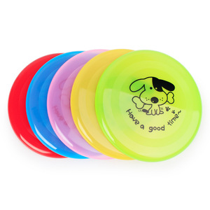 Elasticity Plastic Cartoon Throw and Catch Flying Disc Children's Or Adult Outdoor Sports Outdoors Beach Flying Saucer UFO