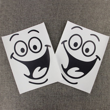 3PCS Big Mouth Toilet Stickers Wall Decorations DIY Vinyl Home Decal Art Waterproof Posters Paper