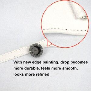 Image 2 - Tanqu longo 68cm borda pintura d fivela redonda lágrima fim alças de couro falso para obag corrente pingente para eva o saco
