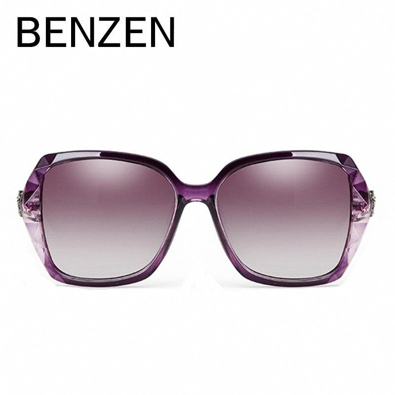 BENZEN luxus Rhineston napszemüveg női márkájú, polarizált női - Ruházati kiegészítők - Fénykép 3