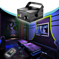 Laser Projector Effect Stage Light RGB Mini 3 Lens 40 Patterns Mixing Remote 3W Blue LED Lights Show Disco Party Lighting shower
