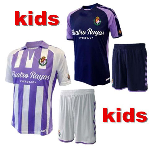 2018 2019 Real Valladolid Kinder T-shirt 18 19 Real Valladolid Kinder Casual T-shirt