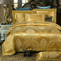 Modal Luxury palace style Jacquard duvet cover set bedding cotton sets bed clothing bed linen ropa de cama wedding home textile