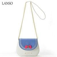 Japanese Cute Cartoon Sailor Moon Chain Bag Luna Cat Limited Candy Color Samantha Vega Messenger Crossbody