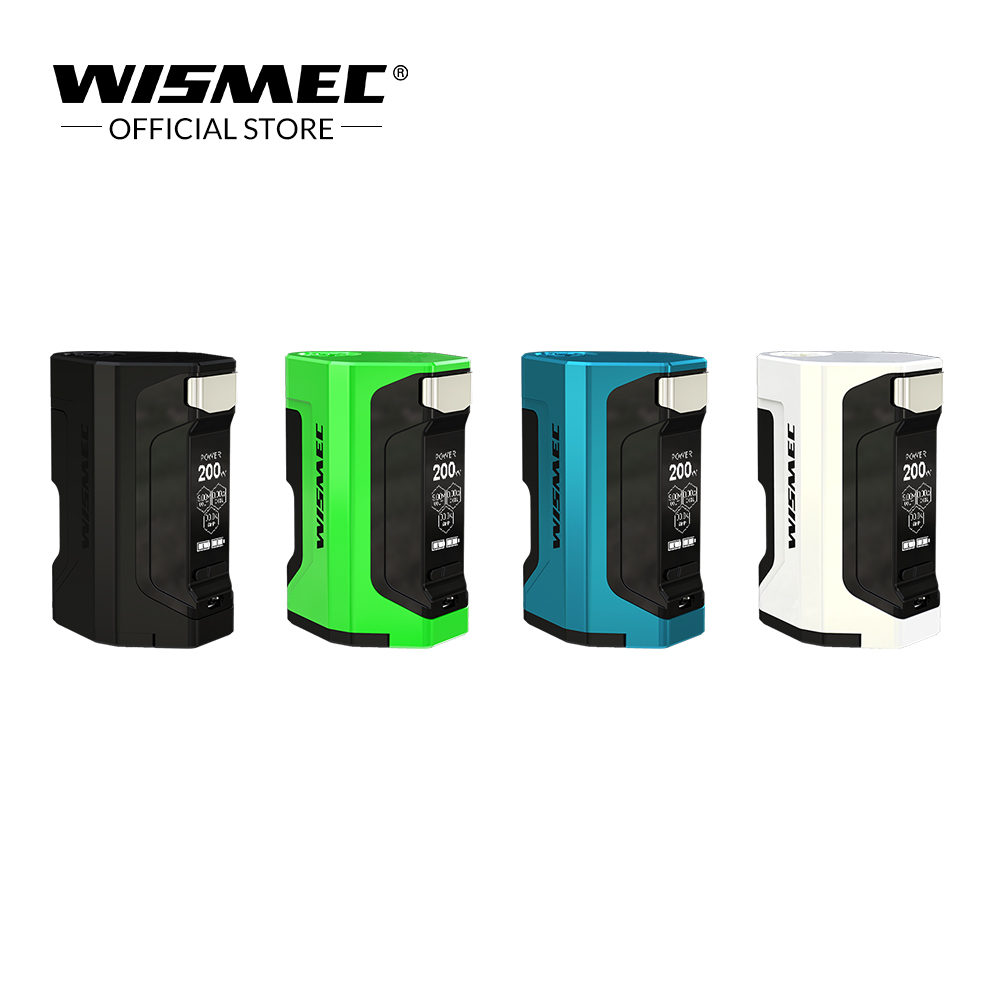 Original Wismec Luxotic DF BOX Mod with 7ml capacity squonk bottle 200W Max Output Luxotic box