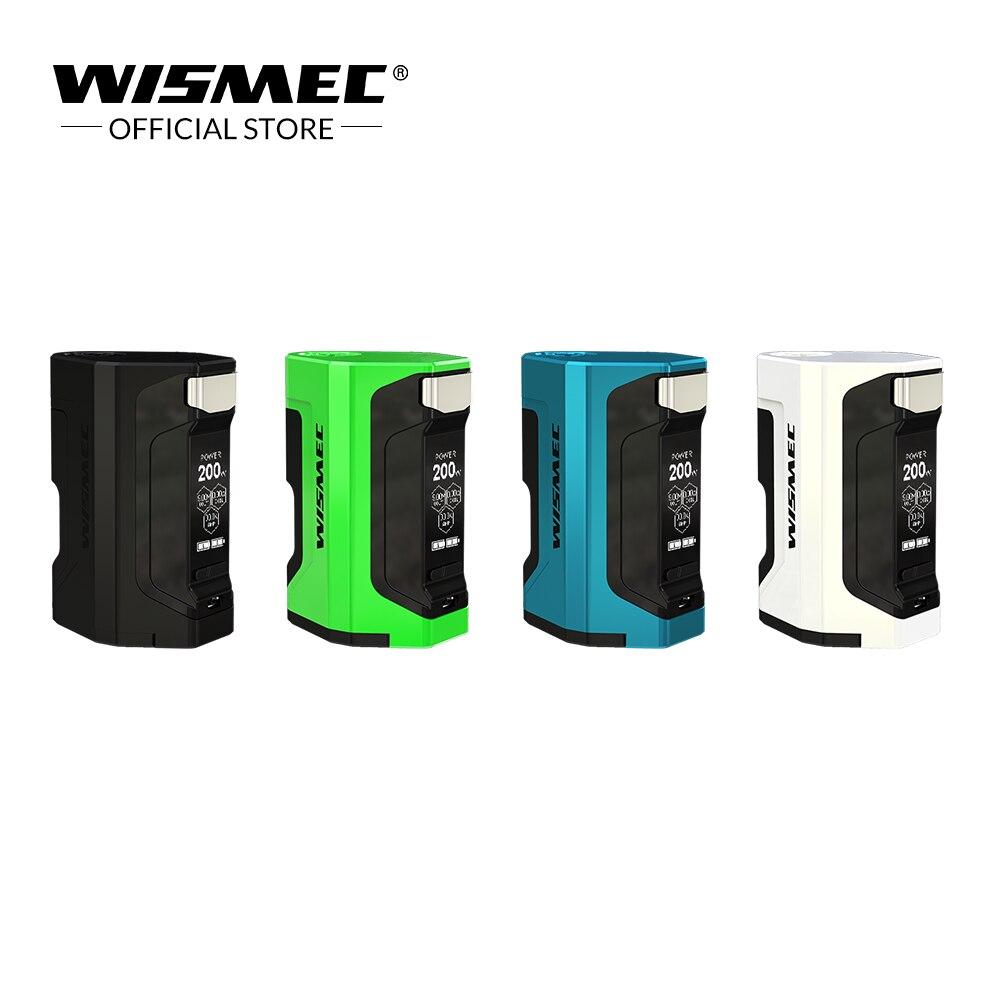 Original Wismec Luxotic DF BOX Mod mit 7 ml kapazität squonk flasche 200 watt Max Ausgang Luxotic box mod elektronische zigaretten mod box