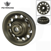 PQY Light Weight Aluminum Crankshaft Pulley OEM Size 92 95 For Civic SOHC D16 PQY CP009