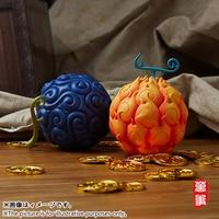 17cm One Piece Devil Fruit Ace Flame Flame & Luffy Gum Gum Action Figure PVC figures toys W52