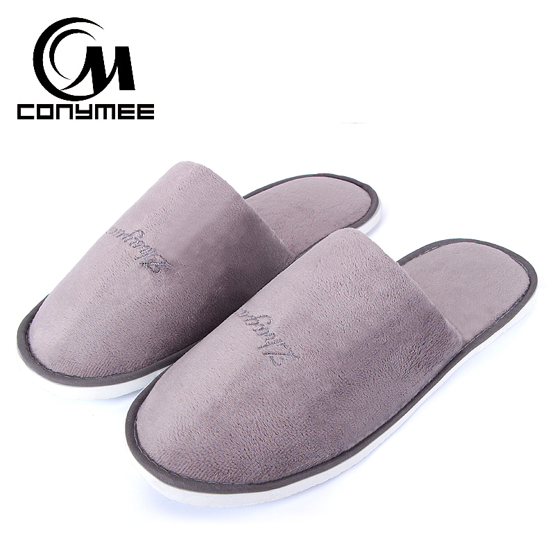 Winter Slippers Woman Home Sneakers Pantufa Soft Plush Shoes Men Women Warm Cotton Indoor Slipper Erkek Terlik Big Size Shoe tolaitoe new winter warm home women slipper cotton shoes plush female floor shoe bow knot fleece indoor shoes woman home slipper