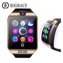 Smart Watch Q18 smartwatch support Touch Screen NFC camera TF card Bluetooth smartwatch for Android and IOS Phone