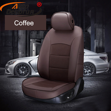 AutoDecorun Real Leather Automobiles Seat Cover for KIA Opirus Seat Cover for Cars Cowhide Seat Supports Car Inerior Accessories