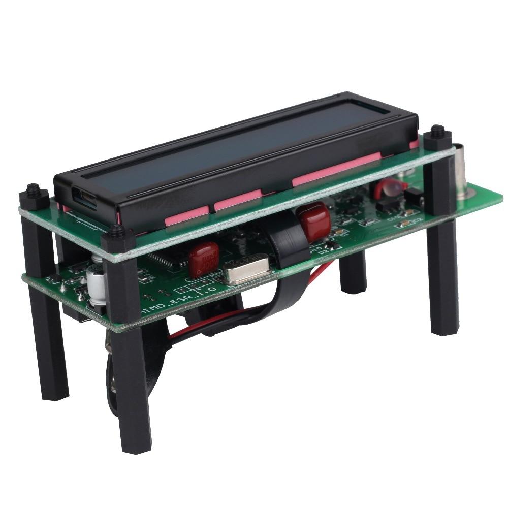 Aimome ESR01 Auto Range Digital LCR ESR Meter Tester Resistance Capacitance Inductance Measurement Capacitor ESR Meter USB power high precision digital capacitance inductance meter auto ranging component tester 500kh lc rc oscillation inductance multimeter