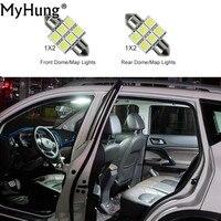 For Honda CRV 2007 2009 Convenience Bulbs Car Led Interior Light C10W W5W Replacement Bulbs Dome