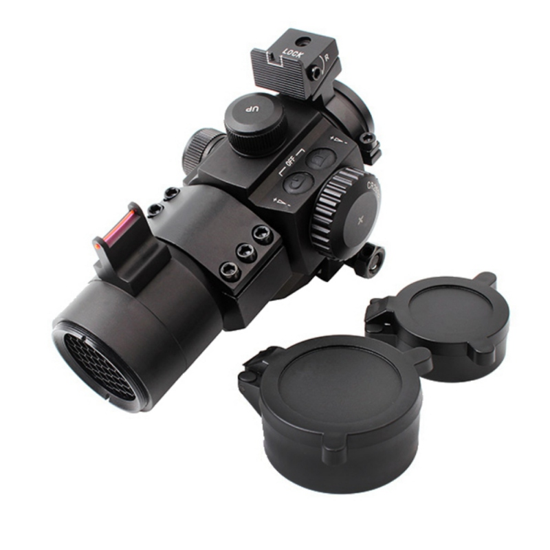 Outdoor Hunting Red Dot Scope Sight M3 Optical Fiber Metal Hunting Accessory Tool M6