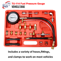 New Arrived TU 114 Fuel Pressure Gauge Herramientas Automotriz Diagnostics Tools For Fuel Injection Pump Tester