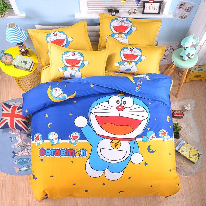 Bedding Set luxury Animal Cat 3/4pcs Family Set Include Bed Sheet Duvet Cover Pillowcase Boy Room Decoration Bedspread