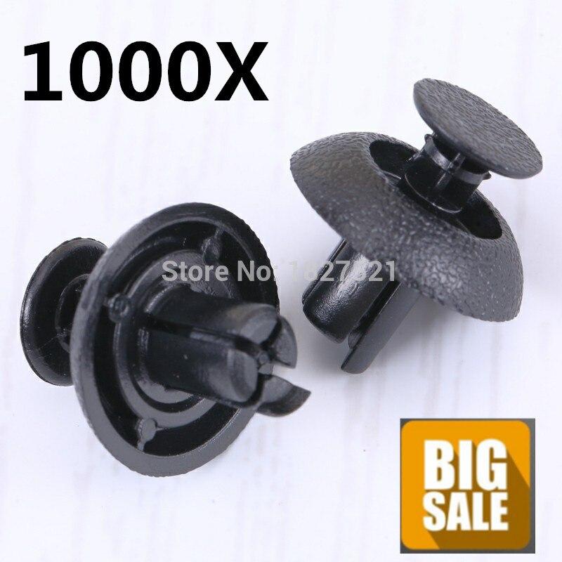 1000 Stücke Motor Abdeckung Grille Retainer Clips Fastener Für Toyota Lexus Ist & Ls Für Scion Für Avalon Für Camry 90467-07211