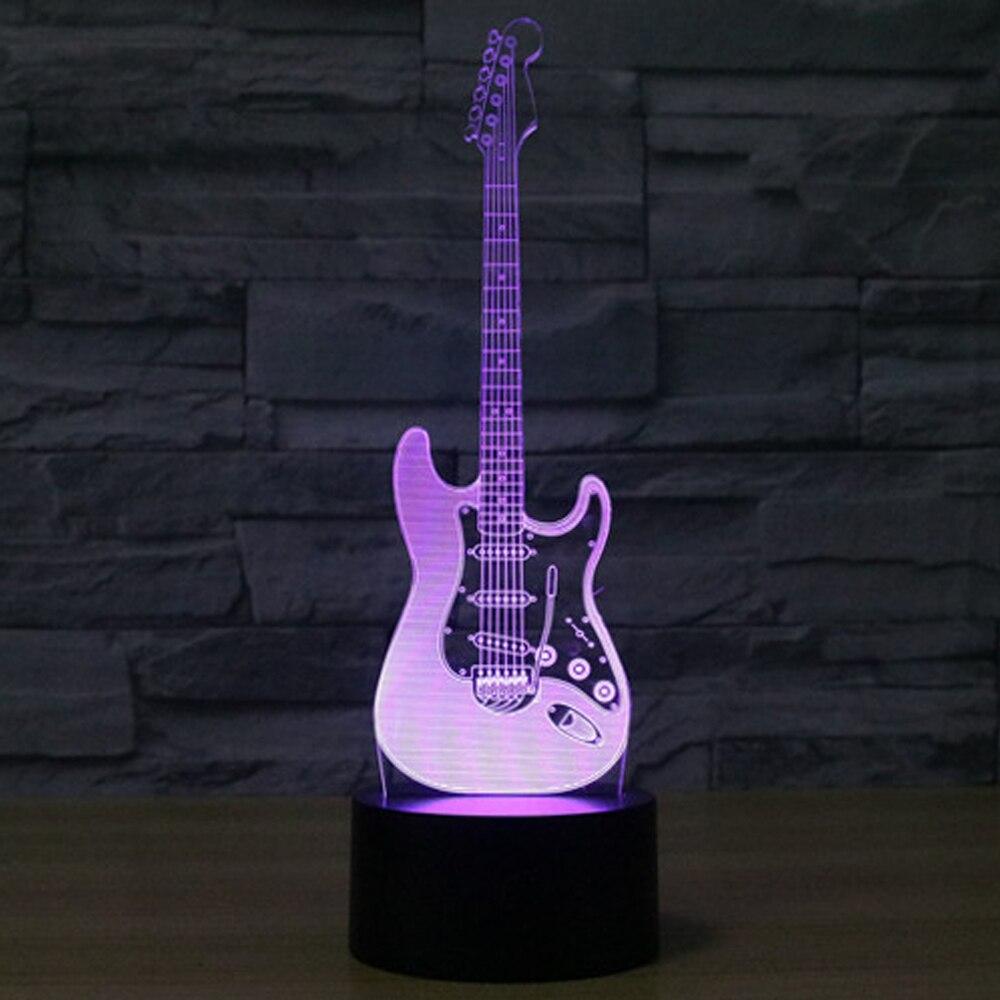 Luzes da Noite modelo ilusão 3d lâmpada led Bateria : aa