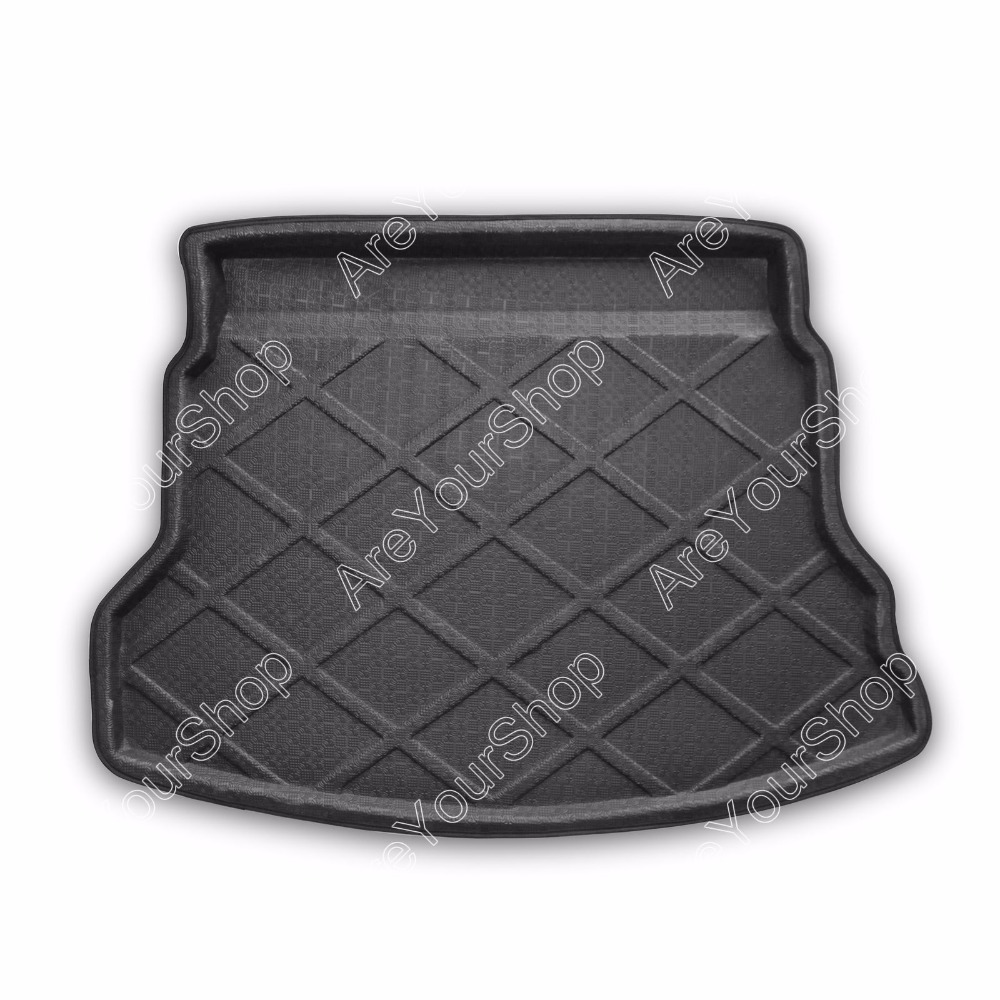 Car Auto Boot liner Cargo Mat Tray Rear Trunk Stickers For Honda CR-V 2012 2013 2014 1PCS Black High Quality Car-Styling Covers free shipping car trunk mat cargo mat for jeep compass mk49 2011 2012 2013 2014 2015 2016