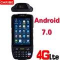 Caribe PL-40L Прочный портативный PDA 1D сканер штрих-кода Многофункциональный Bluetooth UHF RFID считыватель писатель