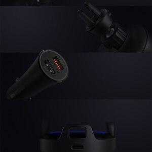 Image 5 - Оригинальное беспроводное автомобильное зарядное устройство Xiaomi, 20 Вт, макс. электрическое автоматическое зажимное стекло 2.5D, Кольцевое освещение для Mi 9 (20 Вт) MIX 2S / 3 (10 Вт) Qi