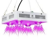 Cfを育てる300ワット600ワットcob ledを育てる光フルスペクトラム屋内水耕温室植物成長照明置き換えるufo成長ラン