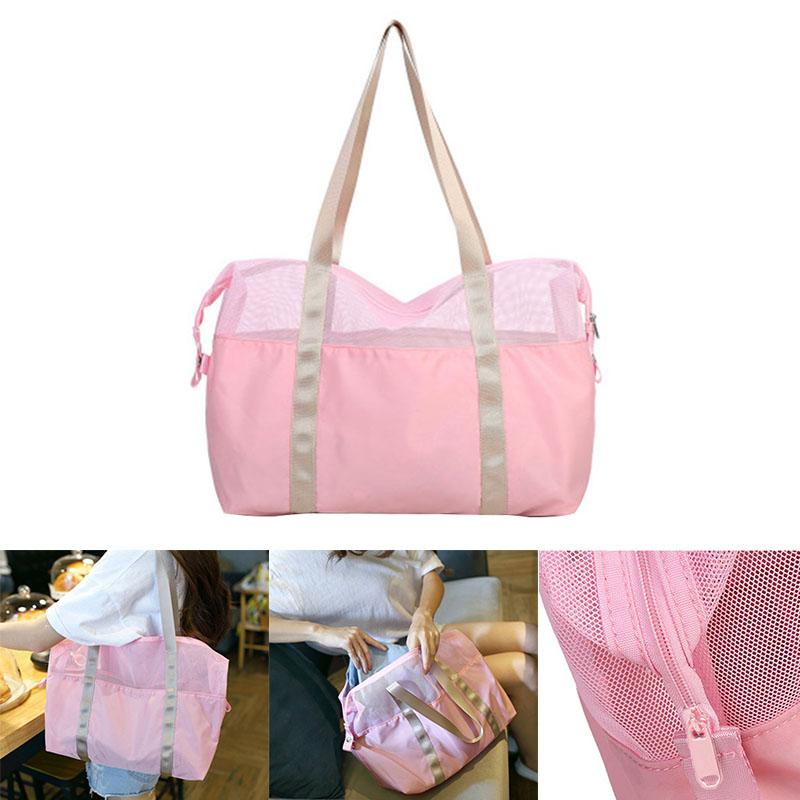 Women Waterproof Outdoor Travel Package High Capacity Multi-function Sport Swimming Beach Storage Shoulder Bag 4 Colors