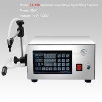 1pc 5ml 3500ml Microcomputer Control Automatic Water Liquid Filling Machine Liquid Filler LT 130