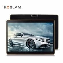 Koslam 10 дюймов Android 7.0 Планшеты PC IPS Экран 2 ГБ Оперативная память 32 ГБ Встроенная память 4 ядра 3 г Телефонный звонок двойной sim-карты WI-FI 10 «Мобильный Phablet