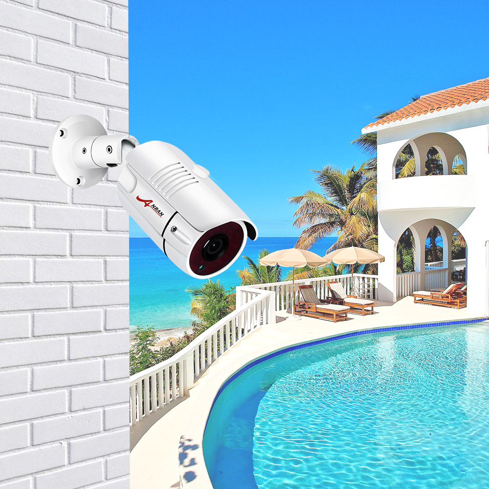 ANRAN H.265 Surveillance Camera 5.0MP POE IP Camera Onvif P2P Motion Detected Security Camera Outdoor Network CCTV Camera