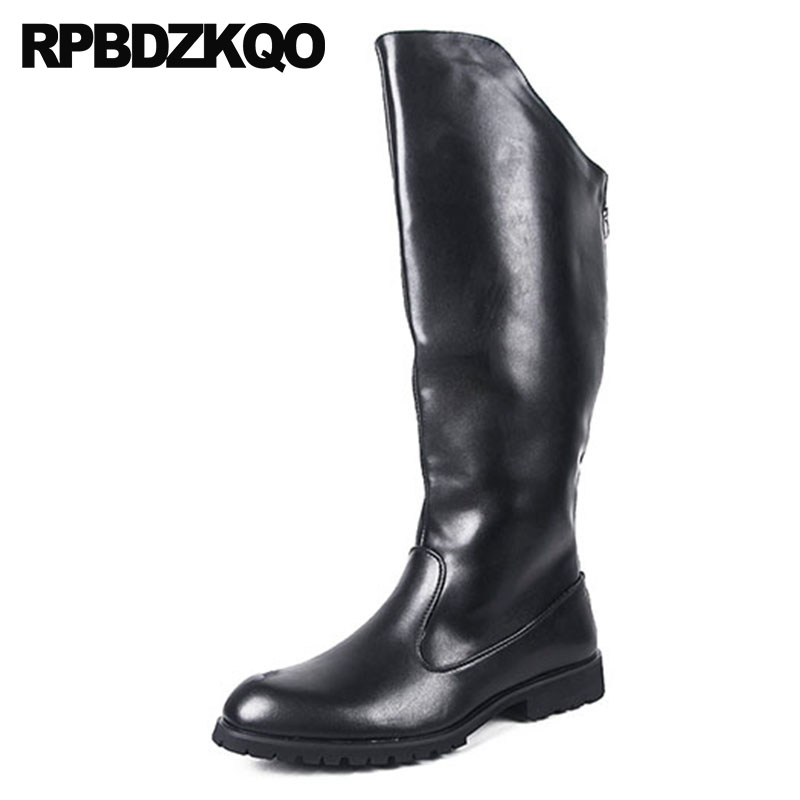 1aa7a68bea6 Buy mens leather tall boots and get free shipping on AliExpress.com