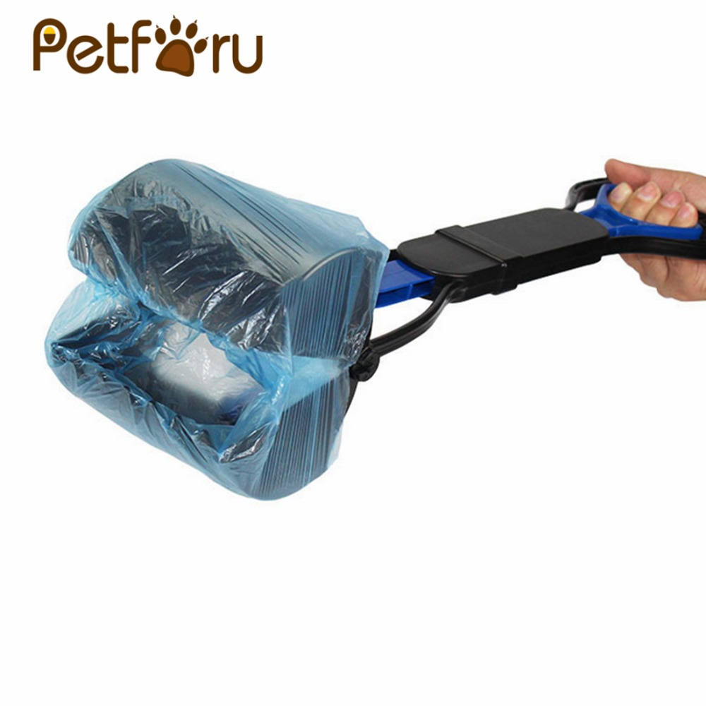 Petforu 5 Rolls Outdoor Pet Dog Waste Poop Bag Protable Puppy Dog Shit Pick Up Cleaning Bags
