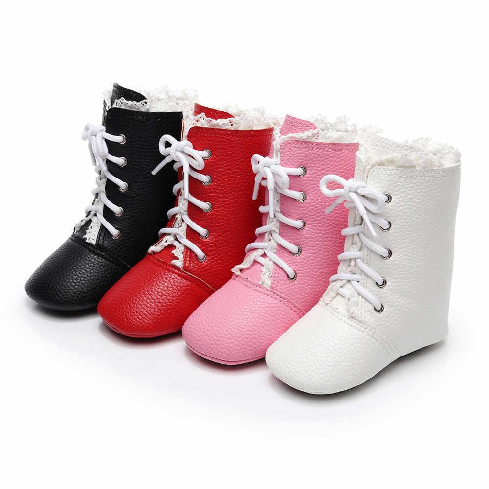 Детская обувь для новорожденных мальчиков и девочек кроватки зимние сапоги Prewalker Теплые Ботинки martin мини melissa zapatos modis