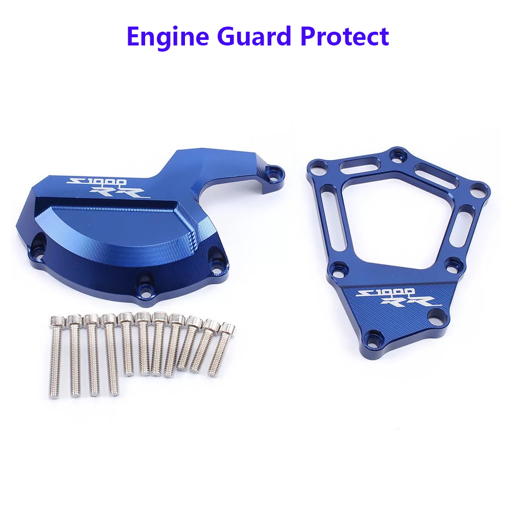 For BMW S1000RR Motorcycle Engine Saver Stator Case Guard Cover Slider Protector S 1000 RR 2009 2010 2011 2012 2016 HP4 K42 K46