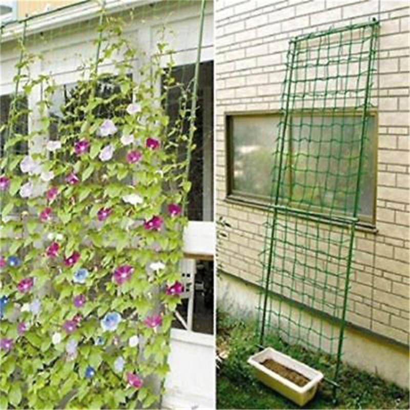 Hot Sell Garden Green Nylon Trellis Netting Support Climbing Bean Plant Nets Grow Fence 1.8*0.9