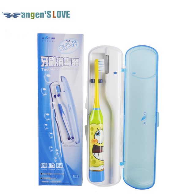 1Set Portable UV Razor Sterilizer Toothbrush Bristle Sterilizer