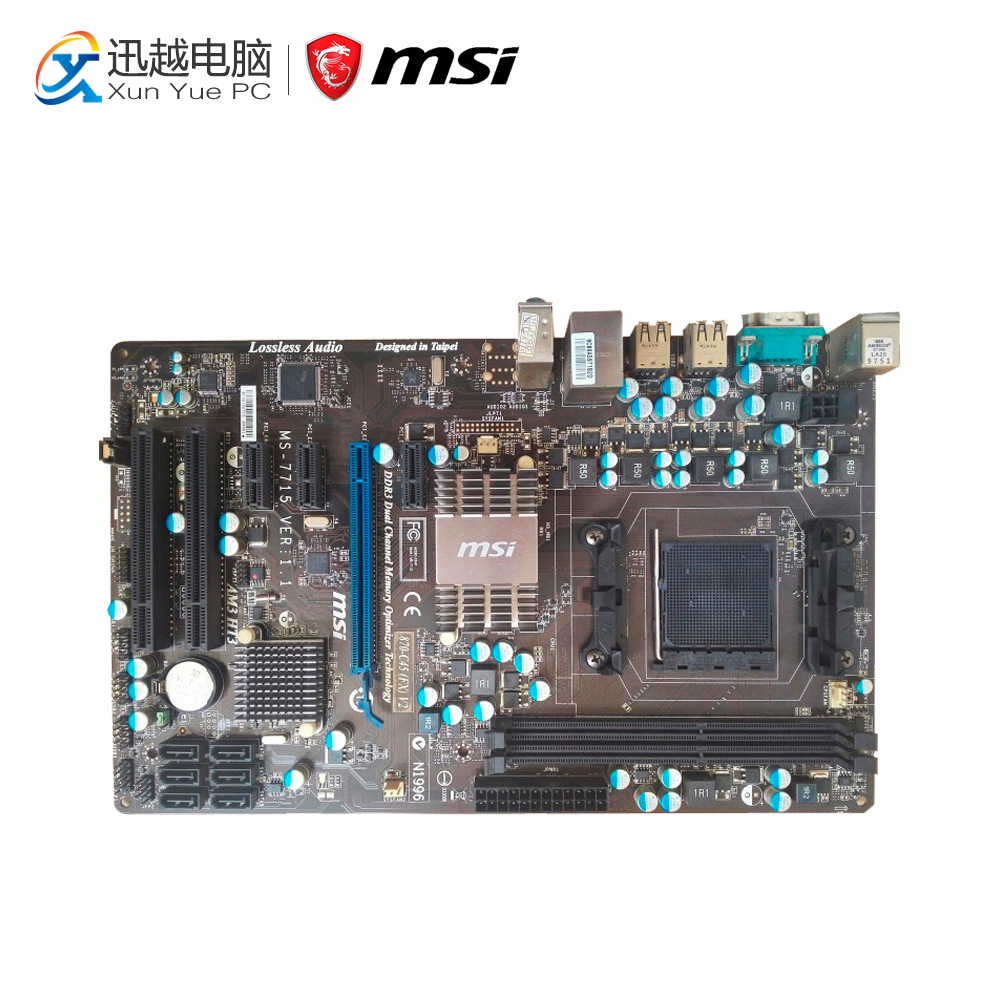 MSI 870-C45 V2(FX) Desktop Motherboard 770 Socket AM3 DDR3 16G STAT2 USB2.0 ATX