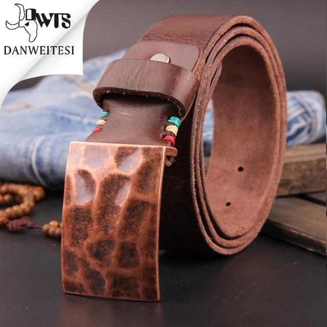 [DWTS]2016 hot mens designer belts for men brand leather belt smooth buckle business strap pants band ceinture cinturones mujer
