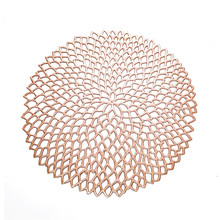 Cute Round Shaped Heat-Resistant Eco-Friendly Table Mat
