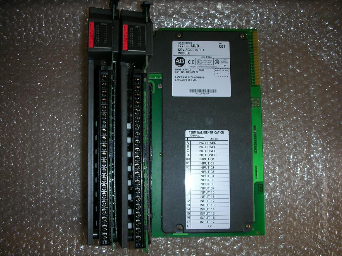 1PC USED AB PLC 1771-IAD/D 1771-IAD/C 1771-IAD 1pc used 1794 tb3s ab