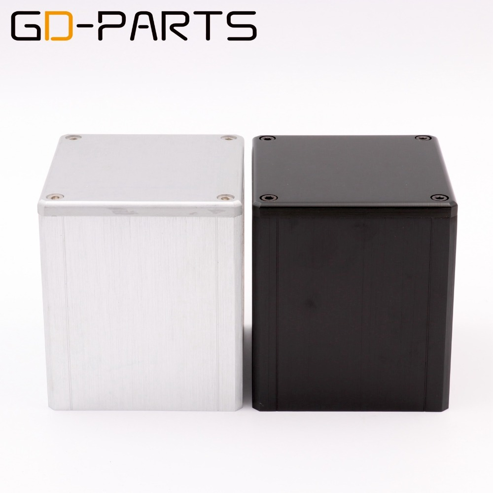 84*80*91mm Aluminum Transformer Triode Protect Cover Enclosure Hifi DIY Gold 1PC
