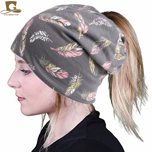 f667443e370 10pcs lot New Women s Baggy Slouchy Beanie Soft Cotton Chemo Hat Cap  Infinity Scarf Skull