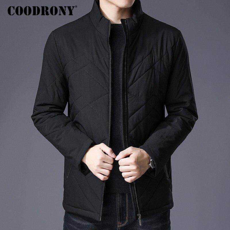 COODRONY ฤดูหนาวเสื้อแจ็คเก็ตผ้าฝ้ายหนาหนาเสื้อกันหนาว Slim Parka เสื้อผ้าผู้ชาย 2018 ใหม่สบายๆเสื้อกันหนาวผู้ชาย 8840-ใน เสื้อกันลม จาก เสื้อผ้าผู้ชาย บน   1