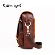 Men's Vintage Genuine Leather Messenger Bag